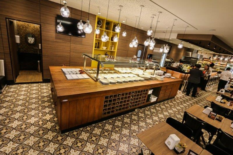 Buffet self service para restaurantes